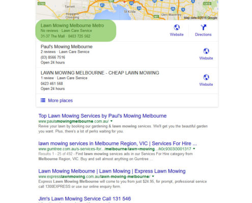 Melbourne Local SEO